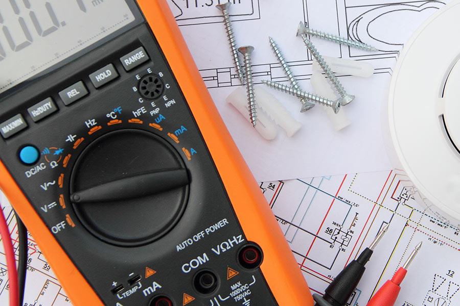Werkzeugtechnik und Wartungsskizzen